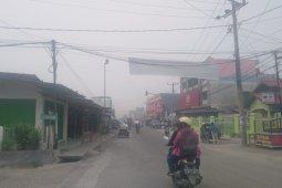 Polusi asap Karhutlah mulai ganggu kesehatan dan aktifitas warga