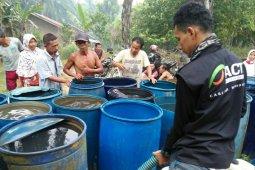 Atasi dampak kekeringan di Labuhanbatu, ACT salurkan 15.000 air bersih di Desa Tebangan