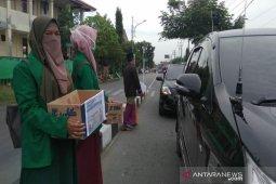 LPM STAIN Teuku Dirundeng galang dana untuk korban kabut asap di Riau