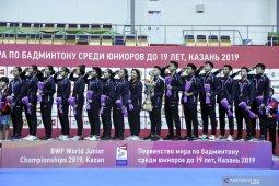 Kejuaraan dunia junior ditunda, timnas Indonesia terus matangkan persiapan
