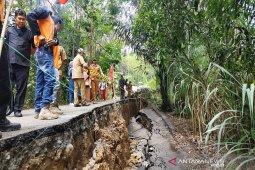 Rentetan kejadian amblasan tanah di Kabupaten Balangan sejak 2017 - 2019