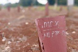 Pasutri tewas tergantung di Labuhanbatu dimakamkan