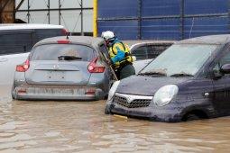 20 orang di Jepang tewas akibat banjir dan longsor