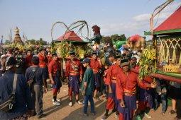 Kirab budaya Saparan Bekakak di Sleman sedot perhatian wisatawan