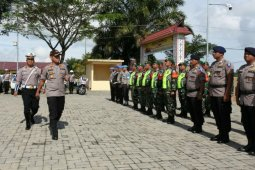 Polres Simalungun apel gelar pasukan Operasi Zebra Toba 2019