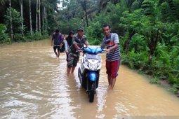 Ratusan rumah warga di Nagan Raya terendam banjir