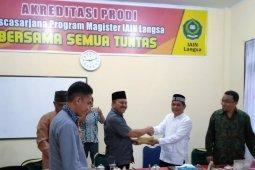 Pemko Langsa salurkan zakat Ibnu Sabil ke Institut Agama Islam Negeri