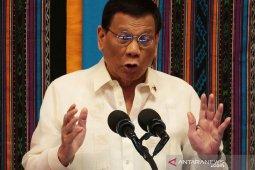 Duterte soal pelanggar karantina wilayah Filipina, 'Tembak saja'
