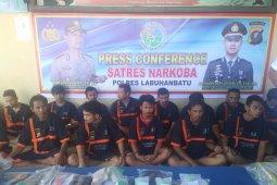 Polres Labuhanbatu ringkus ASN pengedar narkoba