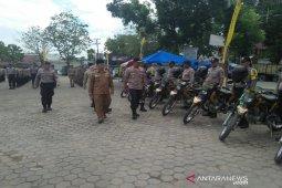 Ratusan aparat kepolisian diterjunkan amankan 99 TPS Pilkades Padang Lawas