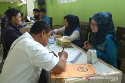 Pilkades serentak, BNNK Sukabumi periksa urine ratusan calon kepala desa