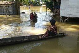 Banjir rendam 12 desa di Aceh Tamiang