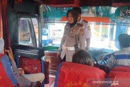 Operasional bus diterminal Sukabumi diperiksa  kelaikannya