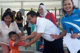 Aquafarm Nusantara serahkan program kesehatan dan pendidikan di Ajibata