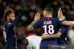 Icardi, Di Maria bawa PSG atasi Lille