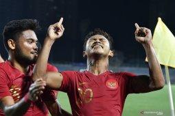 Timnas U-22 Indonesia rebut puncak Grup B usai kalahkan Singapura 2-0