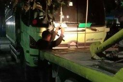Tabrak truk sedang berhenti, pengendara motor di Simalungun ini tewas di tempat