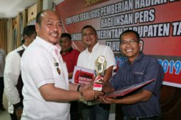 Pewarta ANTARA juara pertama lomba karya tulis Pemkab Taput