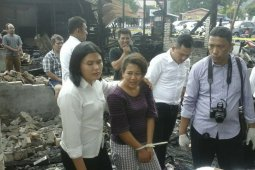 Tersangka penyebab kebakaran di Stasiun KA Pematangsiantar nyaris dipukul warga