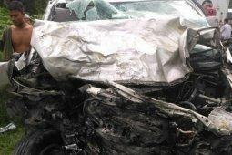 Satu tewas, tujuh luka dalam kecelakaan di Simalungun