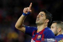 Suarez dipastikan bugar saat Barcelona lawan Mallorca