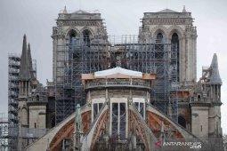 Prancis akan pulihkan Notre-Dame seperti sebelum dilalap api