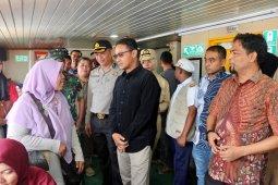 Wali kota Sabang tinjau pos keamanan liburan tahun baru