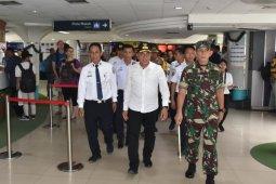 Pemudik di Bandara Kualanamu H+3 Natal mencapai 1.485 orang