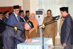 Mantan Wabup Aceh Selatan dilantik jadi kepala dinas