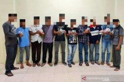 Tujuh petani di Nagan Raya ditangkap saat main judi