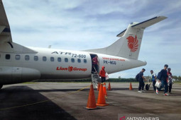 Jumlah penumpang pesawat udara ke Meulaboh sepi saat tahun baru