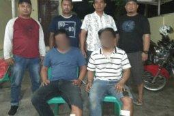 Polisi tangkap tiga tersangka penyalahgunaan narkoba di Parapat, dua ditembak