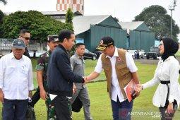 Jokowi instruksikan buka daerah terisolasi akibat longsor di Sukajaya