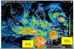 Bibit siklon terdeteksi di  selatan NTT