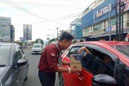 Aliansi pencita alam Lampung menggalang dana peduli Banjir Jadebotabek