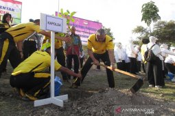 Polda Aceh tanam 6.500 pohon penghijauan di Aceh Besar