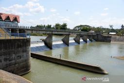 Penurunan debet air untuk sawah