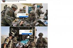 50 tentara AS gegar otak akut pascaserangan Iran
