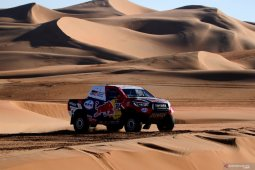 Ini rute baru reli Dakar yang jelajahi gurun Arab Saudi