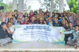 Wabup Aceh Tamiang minta relawan mengajar budayakan senyum sapa salam