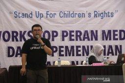 Sejumlah jurnalis Aceh dilatih peliputan isu anak di Sabang