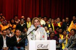 Presiden Bolivia positif corona