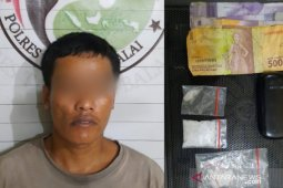 TO Antik ditangkap, 6,94 gram shabu jadi BB