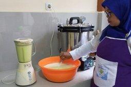 Laboratorium Pengolahan Pascapanen BPTP Jambi perkenalkan eskrim buah naga