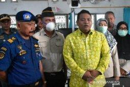 Antisipasi virus Corona, Wali Kota Tanjungbalai cek terminal penumpang Teluk Nibung