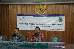 Berbagai pelayanan Bank Kalsel mempermudah pensiunan ASN