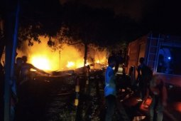 Kebakaran di Aceh Utara, enam unit bangunan ludes terbakar