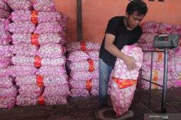 Kemendag membebaskan sementara izin impor bawang putih