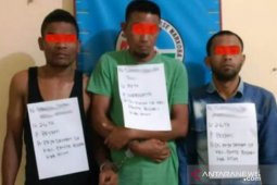 Polisi ciduk tiga pria penyalahgunaan narkotika di Aceh Timur