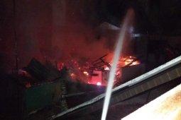 Dua unit rumah semi permanen terbakar di Tebing Tinggi